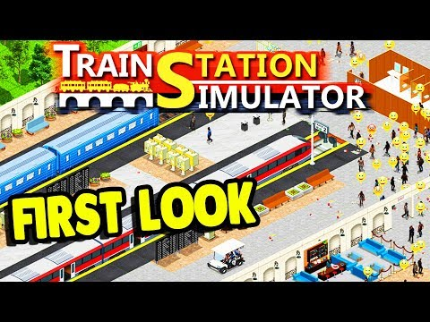 Train Station TYCOON & BUILDING SIMULATOR | Train Station Simulator Gameplay