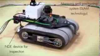 Crawler Robot Demonstration