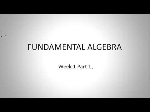 FUNDAMENTALS OF MATH - SUMMER SEMESTER (1)