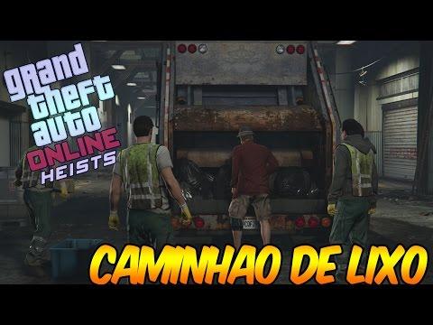GTA  Online Heists -  Serie A - Caminhão  De Lixo