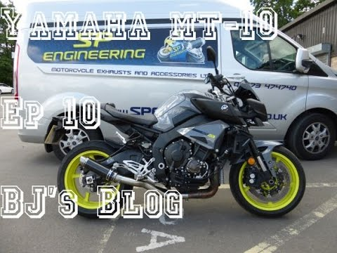 2016 Yamaha MT-10 - Episode 10 - BJ's Blog