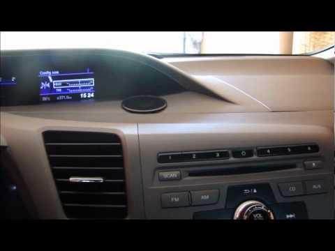 Teste Completo Civic 2012 LXL Parte 1/2 (interior Do Carro)