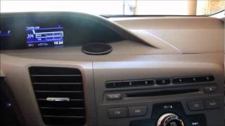 Teste completo Civic 2012 LXL parte 1/2 (interior do carro)