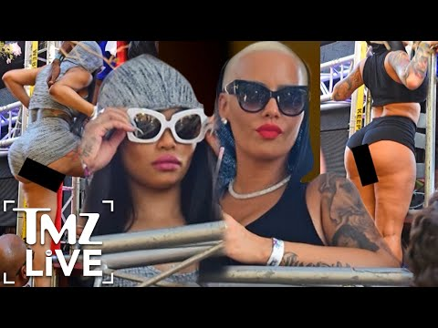 Amber Rose & Blac Chyna: Phat Tuesday Booty | TMZ Live