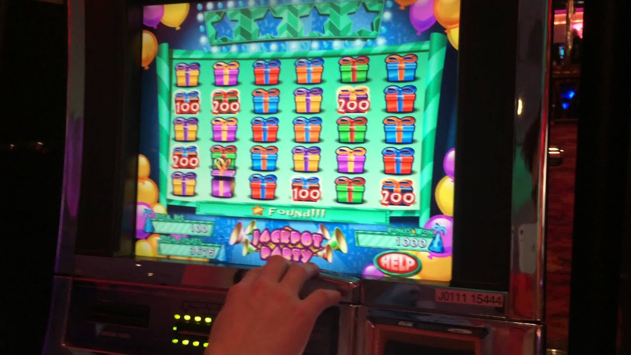 Jackpot Party Slot Machine