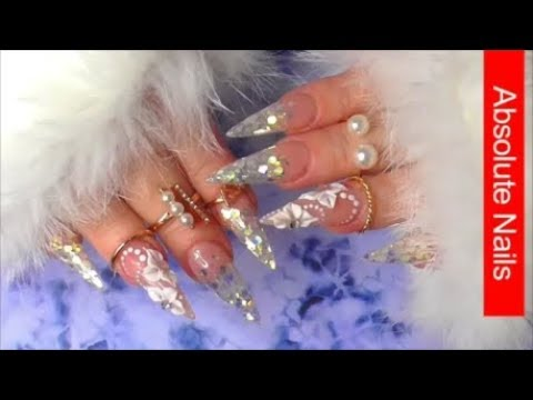 HERE COMES THE BRIDE | HOW TO GLITTER NAILS | STEP BY STEP | ABSOLUTE NAILS