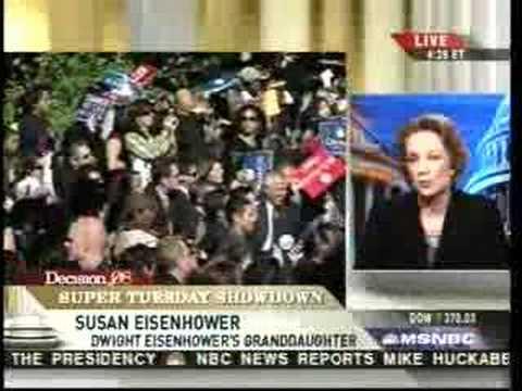 Susan Eisenhower: Barack is the best choice
