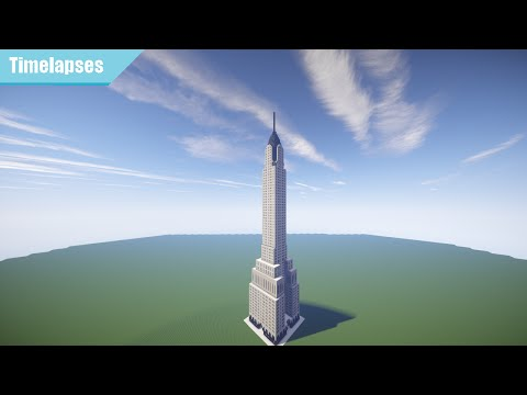Minecraft Timelapse - Chrysler Building