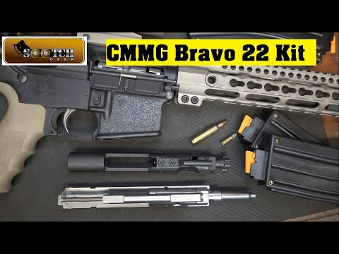 CMMG Bravo 22 Conversion Kit   Great Training Tool