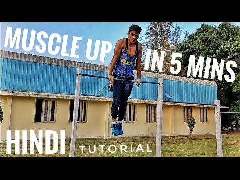 MUSCLE UP TUTORIAL for beginners | HINDI thumbnail