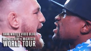 Dana White's Video Blog | MAY/MAC WORLD TOUR | Ep. 2 thumbnail