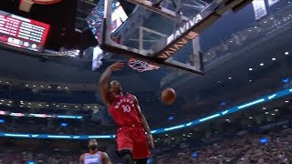 Raptors Highlights: DeRozan Drops The Hammer - March 25, 2018 thumbnail