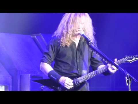Megadeth - Symphony of Destruction - Prudential Center NJ 10/14/2016