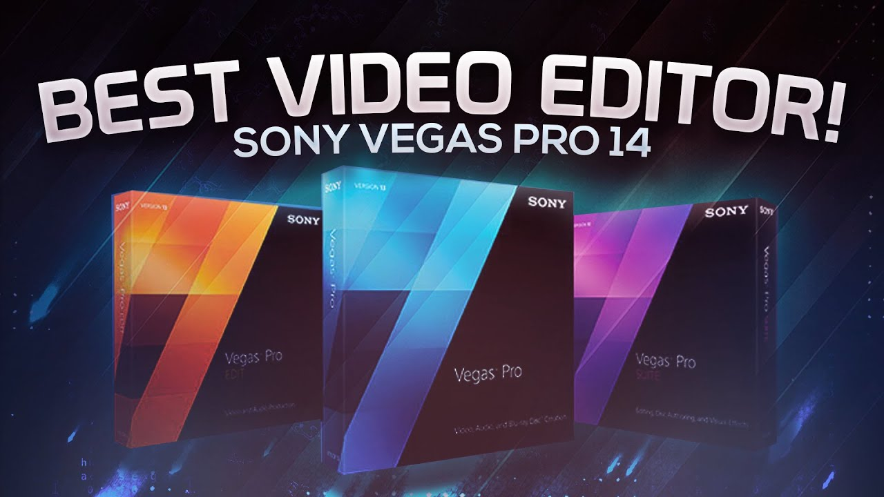 Download Sony Vegas Pro 14 Free With crack latest