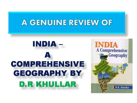 INDIAN GEOGRAPHY BY KHULLAR- A GENUINE REVIEW
