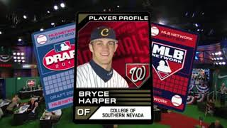 MLB Stars getting drafted.