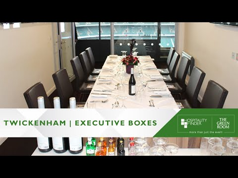 Hospitality Finder presents Executive Boxes at Twickenham Stadium