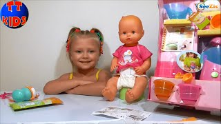 ✔ Nenuco Baby Doll. Unboxing Toys. Ярослава распаковывает Куклу Ненуко. Серия 41 ✔