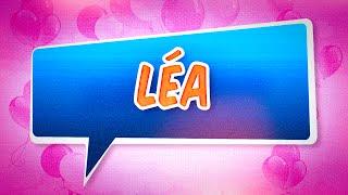 Joyeux anniversaire Léa