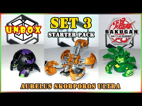 *wave-8*-aurelus-skorporos-ultra-starter-pack-(bakugan-battle-planet-|-爆丸-バトルプラネット-|-星域爭霸-|-決戰星球)