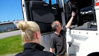 Abfahrtskontrolle Klasse C (Lkw-Führerscheinprüfung) - Karte 1/10