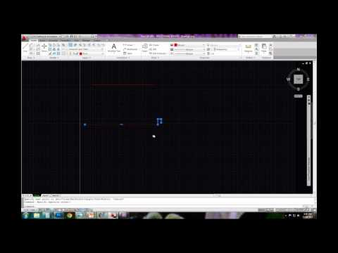 AutoCAD - Drawing a section to scale Part 1