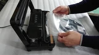 진공포장기(비닐 압축 및 밀봉)