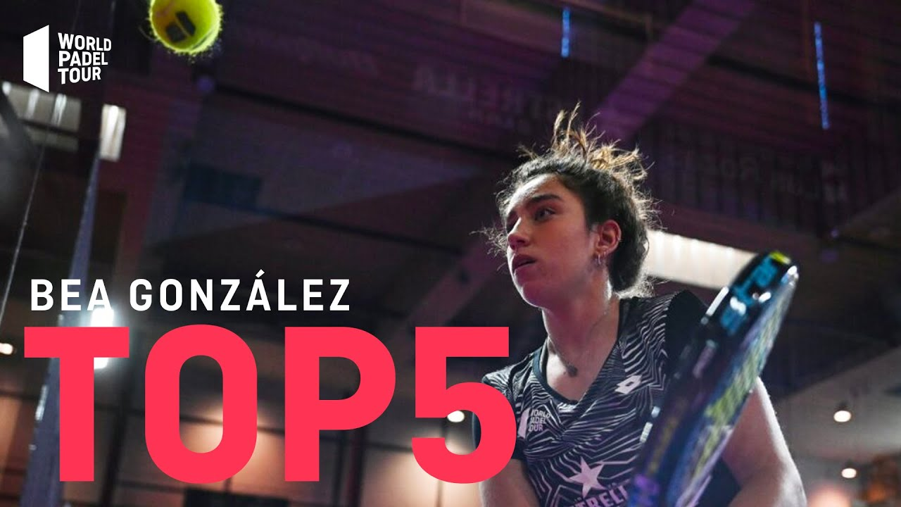 #Top5 Puntazos Bea González 2020 | World Padel Tour