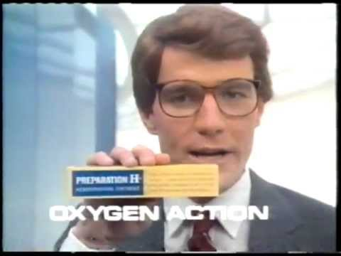 Preparation H Ad With Bryan Cranston Early 80s