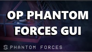 (PATCHED) Script Showcase | Phantom Forces GUI | ROBLOX
