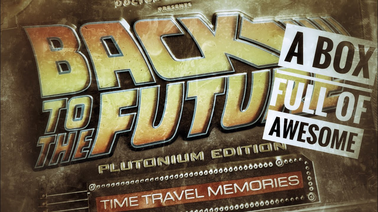 Download Back to the Future Plutonium Edition Time Travel Memories Set by Doctor Collector