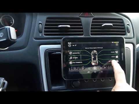 Планшет вместо магнитолы на Volvo S60