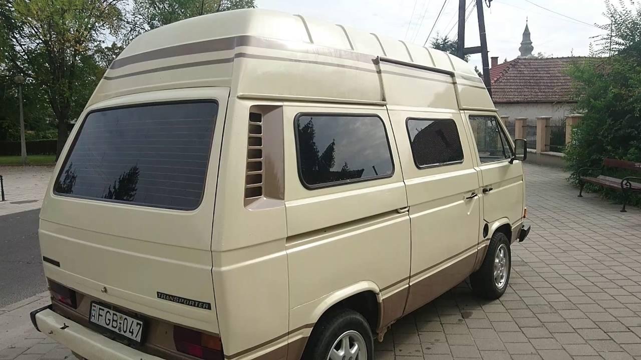 vw transporter camping car 1980 youtube. Black Bedroom Furniture Sets. Home Design Ideas