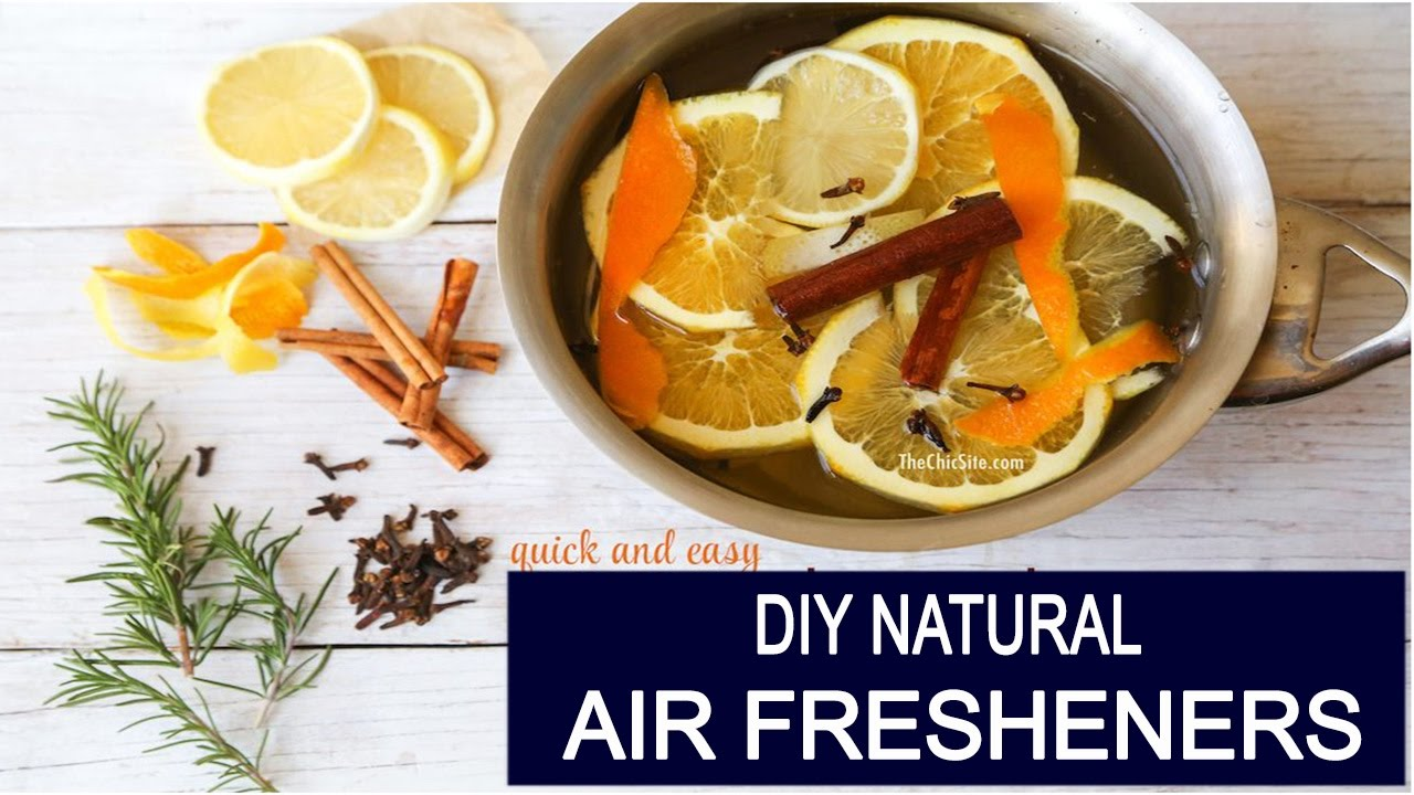 How To Make Easy Homemade Natural Air Fresheners (That Really Work) ?
