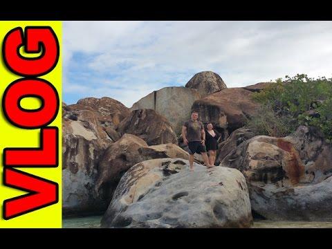 Dzień Na Wyspie Tortola Na Karaibach (British Virgin Islands)