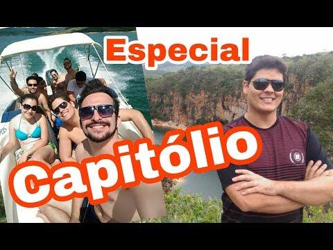 Uma aventura em Capitólio - Escarpas do Lago