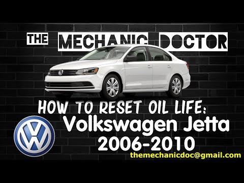 How to Reset Oil Light: Volkswagen Jetta 2006, 2007, 2008, 2009, 2010.