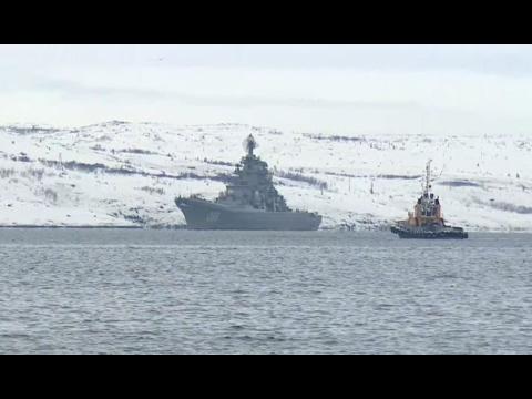 El grupo naval ruso vuelve a casa tras su misión en Siria