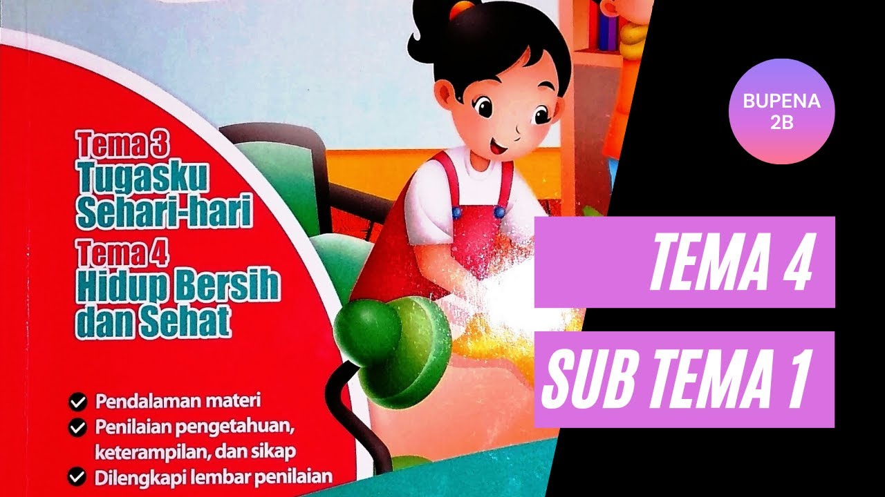 Kunci Jawaban Bupena 2b Halaman 115 119 Tema 4 Sub Tema 2 Bu And Channel Kelas 2 Sd Youtube
