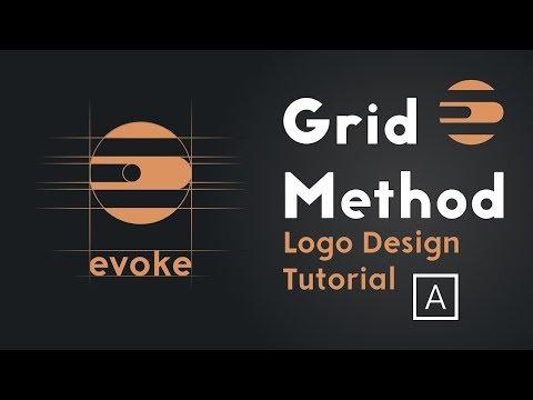 How To Make A Logo Design With Grid Method | Adobe Illustrator Tutorial thumbnail