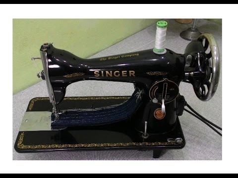 Maquina De Costura Antiga Singer - Colecções ...