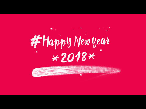 Happy New Year 2018 Video Clip for WhatsApp