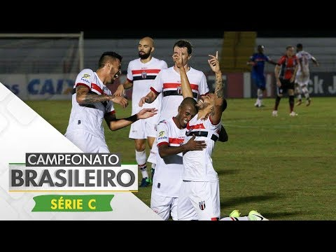 Melhore Momentos - Botafogo-SP 3 x 0 Joinville - Brasileiro Série C (04/06/2017)