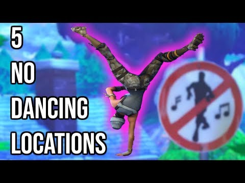 Dance In Different Forbidden Locations Guide Fortnite Battle Royale