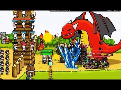 Grow Castle  Мультфильм Игра о развитии и защите замка  Игровой мультик для детей #Мобильные игры