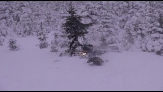 Epic Snowmobile Fails, all from one weekend of snowmobiling!