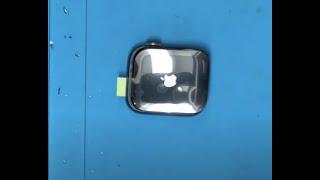 애플 워치 시리즈 5 액정 교체 방법.