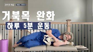 목 통증 - 거북목 편 (Neck pain relief…