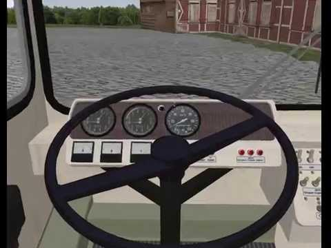видео: Троллейбус ЗиУ 9 в omsi