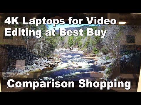 4K Laptops At BestBuy - Comparison Shopping